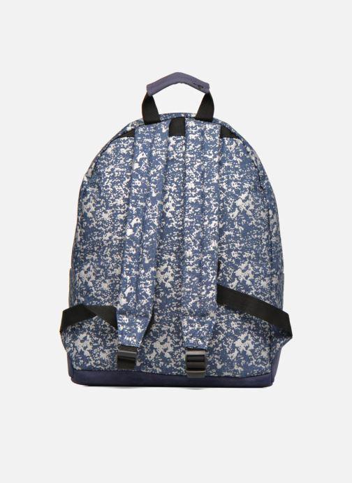 Rucksacks Mi-Pac Premium Denim Spatter Backpack Blue front view