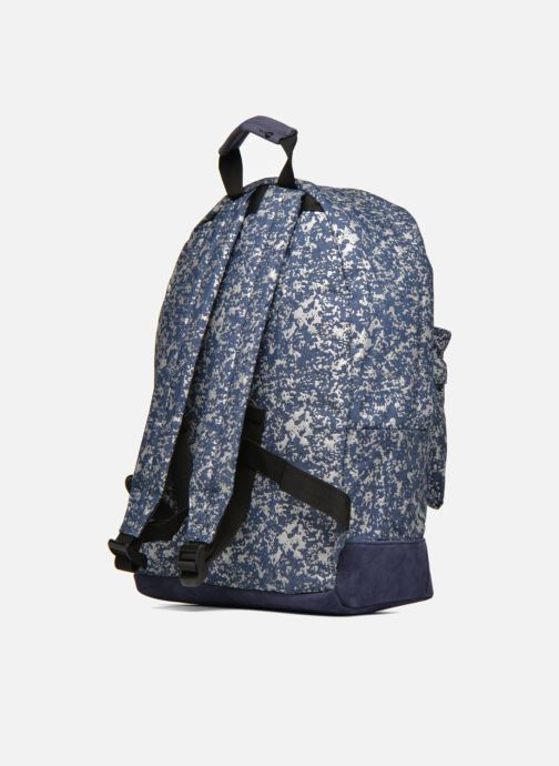 Rucksacks Mi-Pac Premium Denim Spatter Backpack Blue view from the right