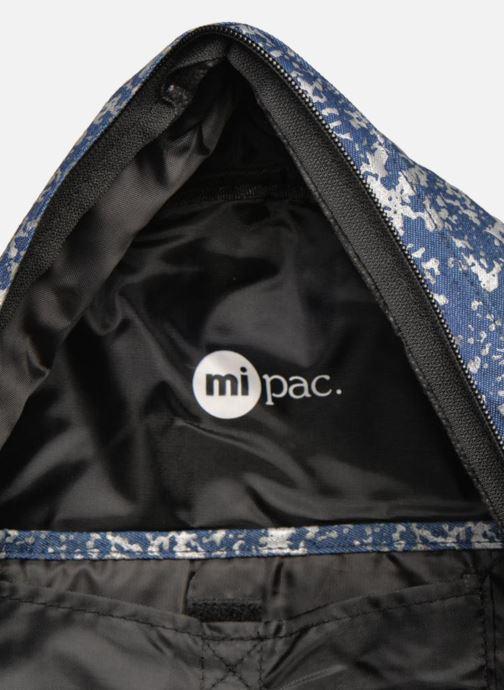 Rucksacks Mi-Pac Premium Denim Spatter Backpack Blue back view