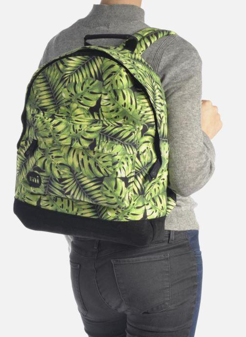 Sacs à dos Mi-Pac Premium Print Vert vue bas / vue portée sac