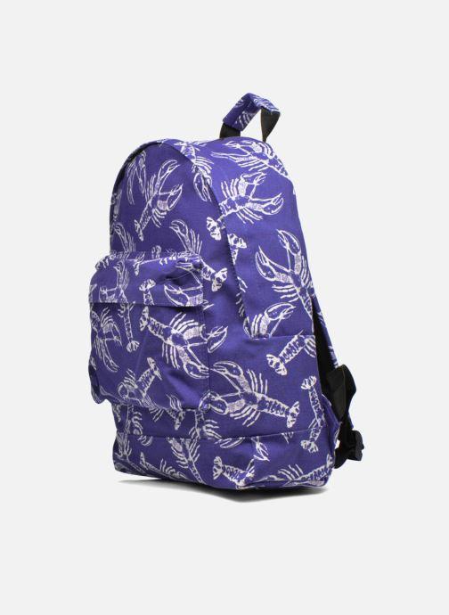 Zaini Mi-Pac Premium Print Azzurro modello indossato