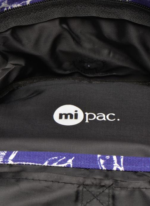 Mochilas Mi-Pac Premium Print Azul vistra trasera