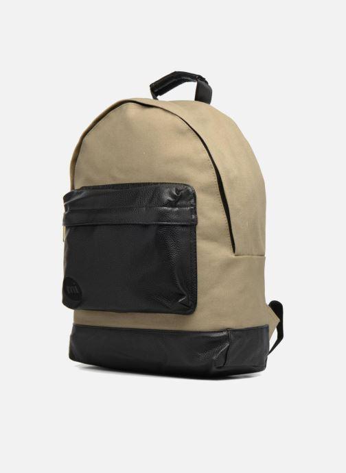 Zaini Mi-Pac Gold Backpack Beige modello indossato