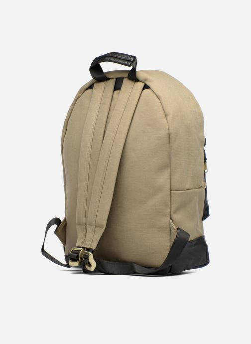 Rucksacks Mi-Pac Gold Backpack Beige view from the right