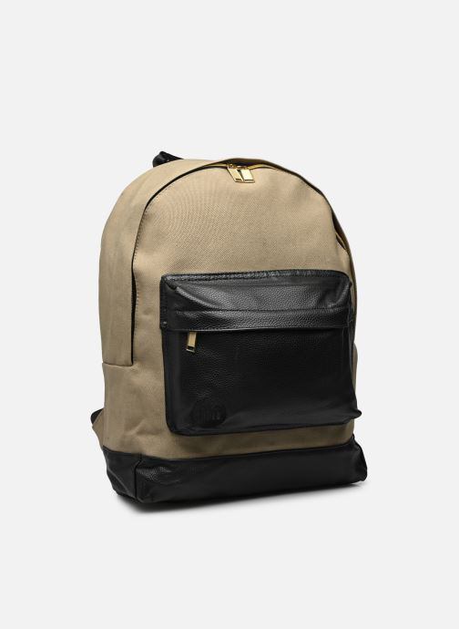 Rucksacks Mi-Pac Gold Backpack Beige view from underneath / model view