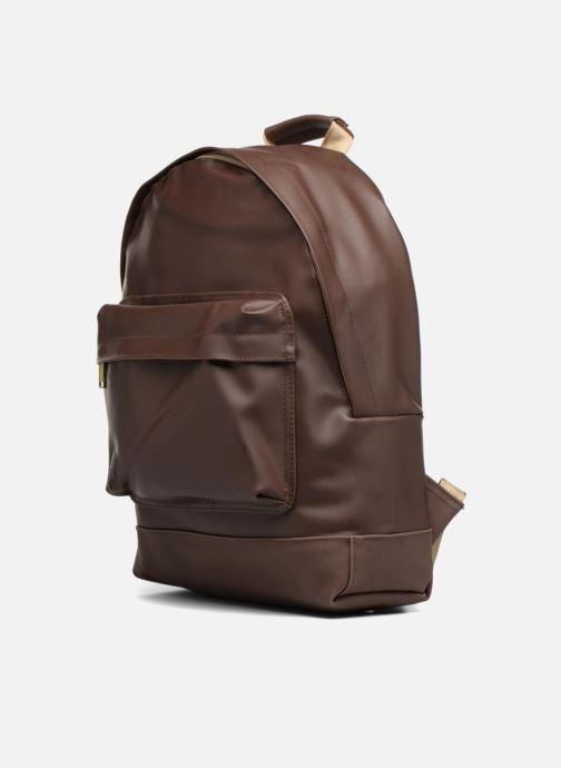 Rucksäcke Mi-Pac Gold Backpack braun schuhe getragen