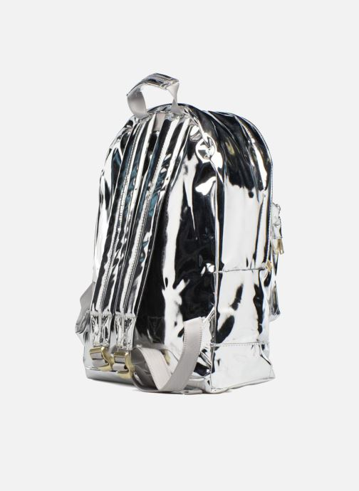 Mochilas Mi-Pac Gold Backpack Plateado vista lateral derecha