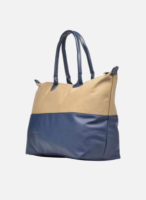 Reisegepäck Mi-Pac Weekender Bag blau ansicht von rechts