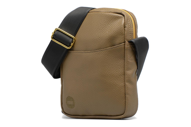 Herrentaschen Mi-Pac Flight bag grün schuhe getragen