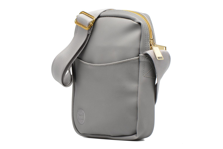 Borse uomo Mi-Pac Flight bag Grigio modello indossato