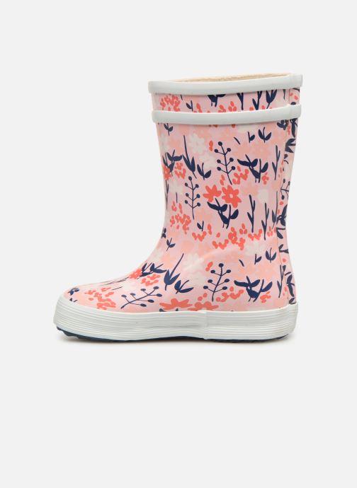 Støvler & gummistøvler Aigle Baby Flac Kid Pink se forfra