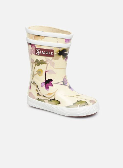 Boots & wellies Aigle Baby Flac Kid White detailed view/ Pair view