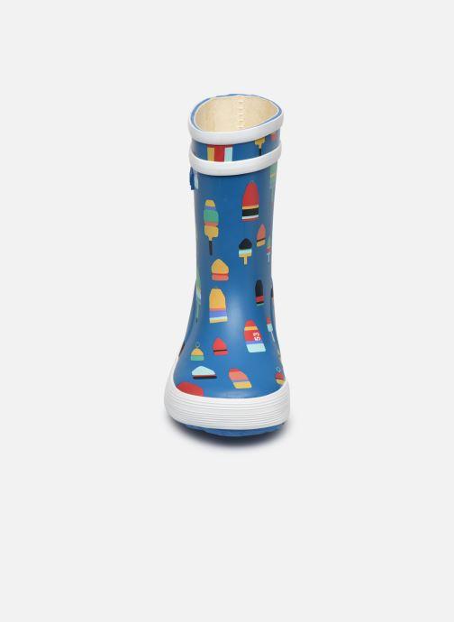 Støvler & gummistøvler Aigle Baby Flac Kid Blå se skoene på
