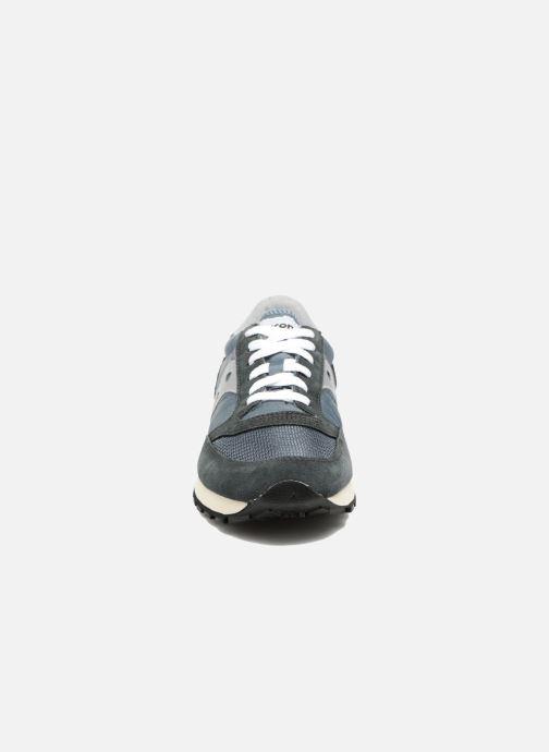 Sneaker Saucony Jazz Original Vintage grau schuhe getragen