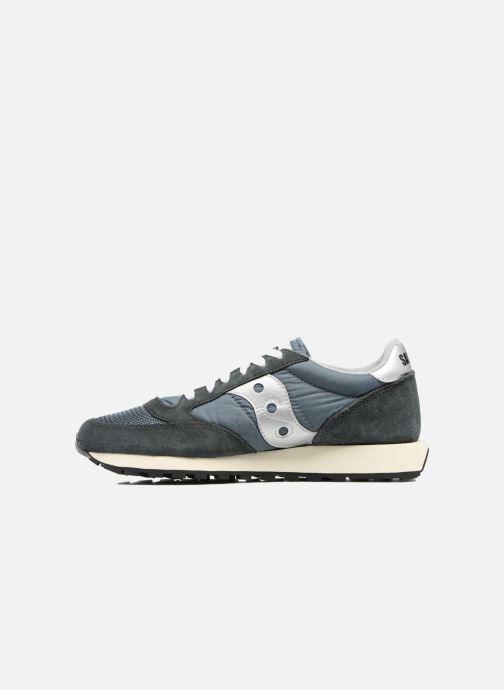 Sneaker Saucony Jazz Original Vintage grau ansicht von vorne