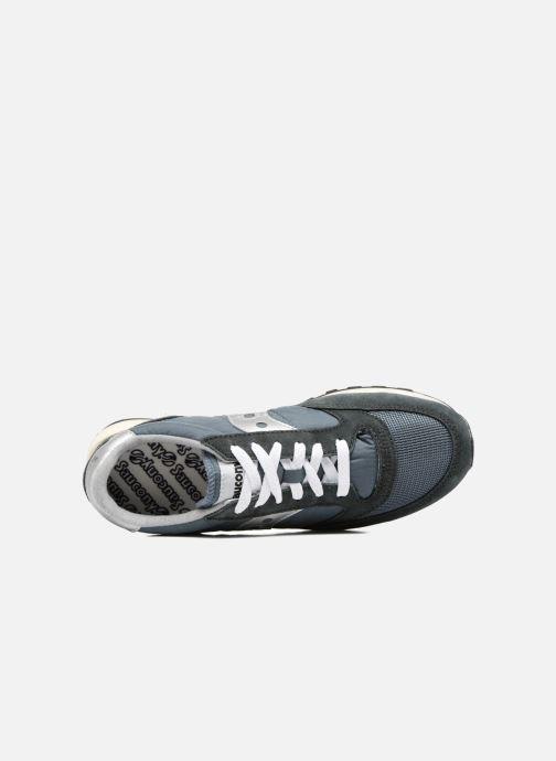 Sneaker Saucony Jazz Original Vintage grau ansicht von links