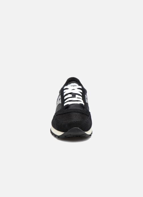 Sneaker Saucony Jazz Original Vintage schwarz schuhe getragen