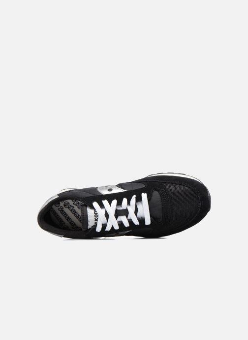 Sneaker Saucony Jazz Original Vintage schwarz ansicht von links