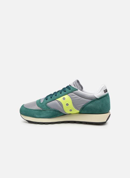 Sneakers Saucony Jazz Original Vintage Grön bild från framsidan