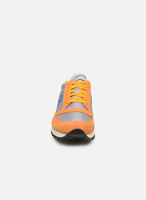 Baskets Saucony Jazz Original Vintage Orange vue portées chaussures