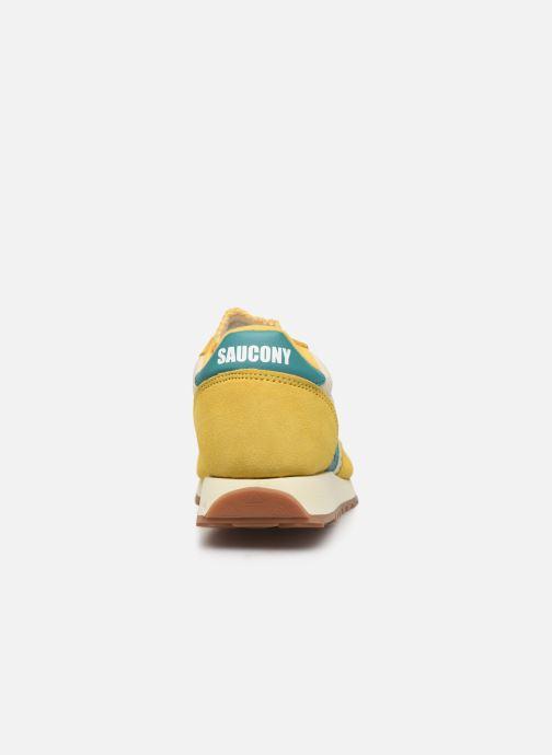 Sneaker Saucony Jazz Original Vintage gelb ansicht von rechts