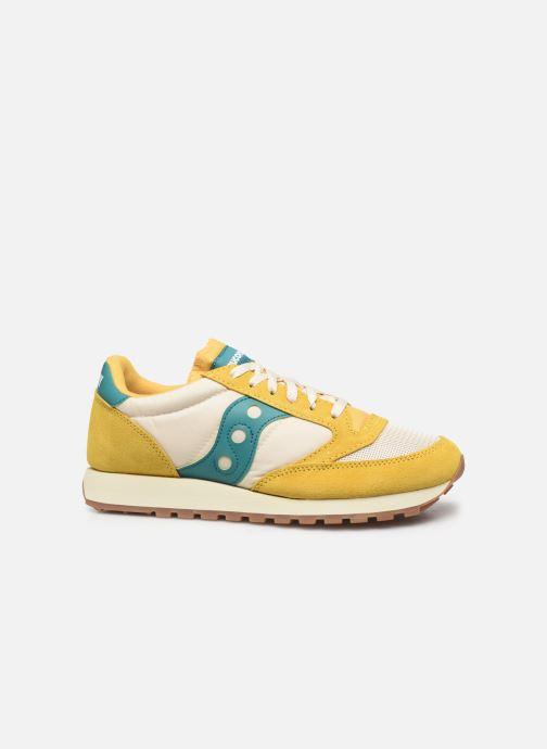 Sneaker Saucony Jazz Original Vintage gelb ansicht von hinten