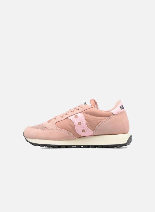 Sneaker Saucony Jazz Original Vintage W rosa ansicht von vorne