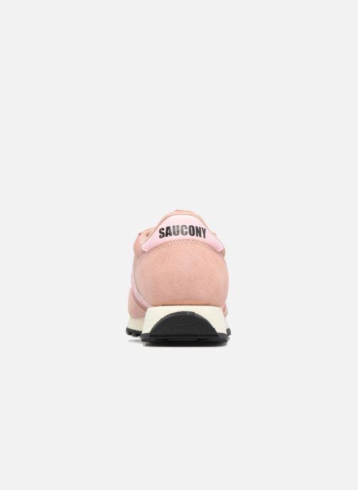 Sneaker Saucony Jazz Original Vintage W rosa ansicht von rechts