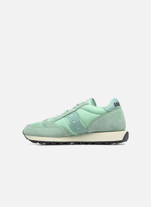 Sneakers Saucony Jazz Original Vintage W Groen voorkant