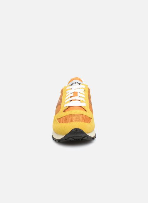 Sneaker Saucony Jazz Original Vintage W gelb schuhe getragen