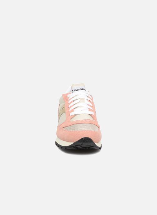Sneaker Saucony Jazz Original Vintage W rosa schuhe getragen