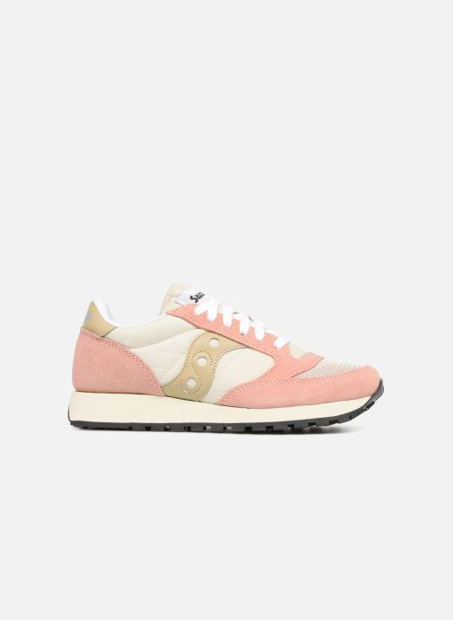 Sneaker Saucony Jazz Original Vintage W rosa ansicht von hinten