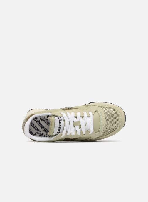 Sneaker Saucony Jazz Original Vintage W grün ansicht von links