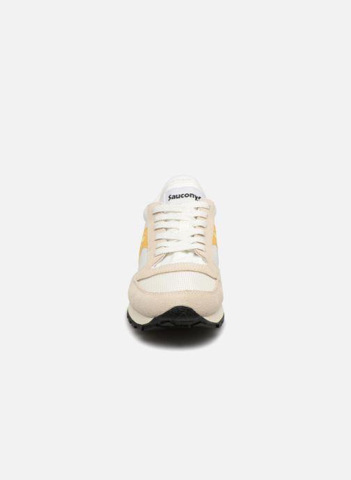 Sneaker Saucony Jazz Original Vintage W weiß schuhe getragen