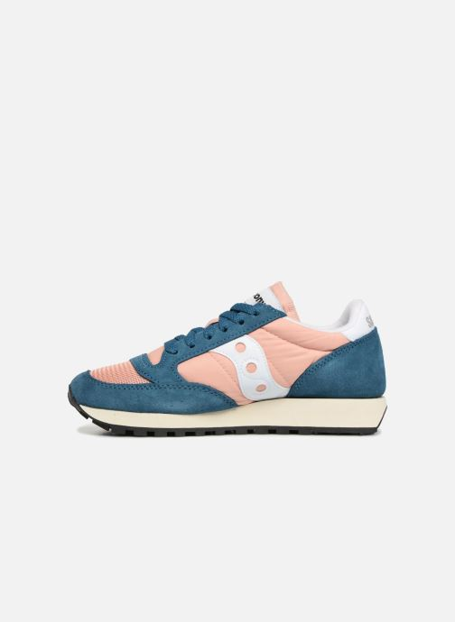 Baskets Saucony Jazz Original Vintage W Rose vue face