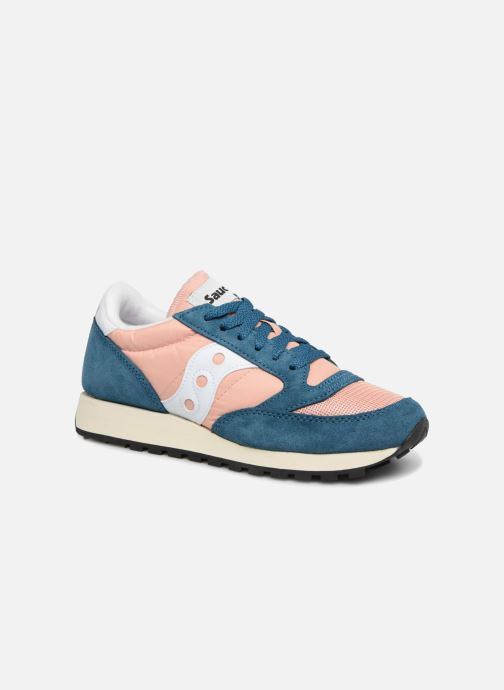 Baskets Saucony Jazz Original Vintage W Rose vue détail/paire