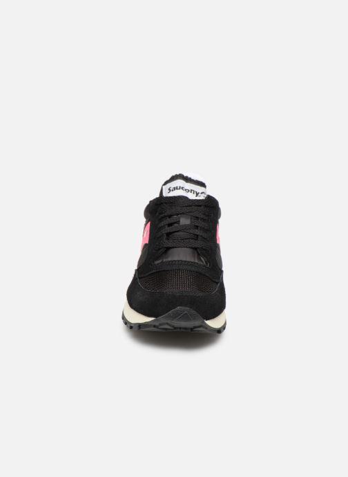 Sneaker Saucony Jazz Original Vintage W schwarz schuhe getragen