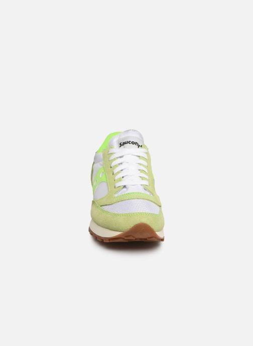 Sneaker Saucony Jazz Original Vintage W grün schuhe getragen
