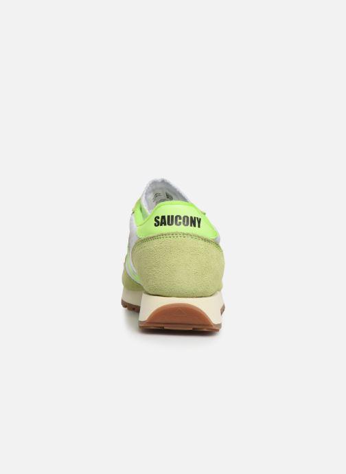 Sneaker Saucony Jazz Original Vintage W grün ansicht von rechts