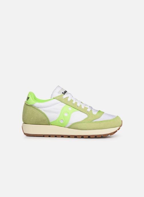 Sneaker Saucony Jazz Original Vintage W grün ansicht von hinten