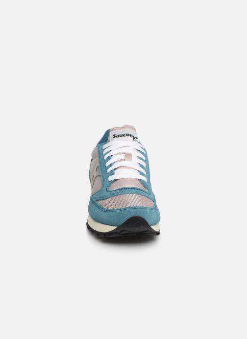 Sneaker Saucony Jazz Original Vintage W blau schuhe getragen