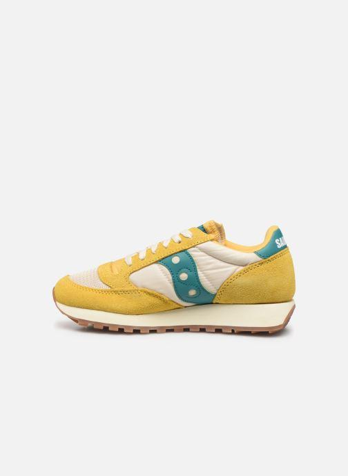 Sneaker Saucony Jazz Original Vintage W gelb ansicht von vorne