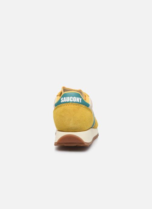 Sneaker Saucony Jazz Original Vintage W gelb ansicht von rechts