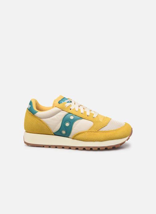 Sneaker Saucony Jazz Original Vintage W gelb ansicht von hinten