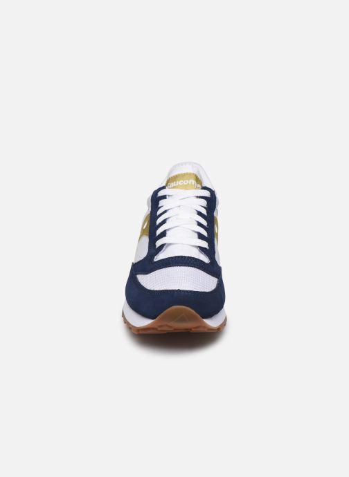 Baskets Saucony Jazz Original Vintage W Blanc vue portées chaussures