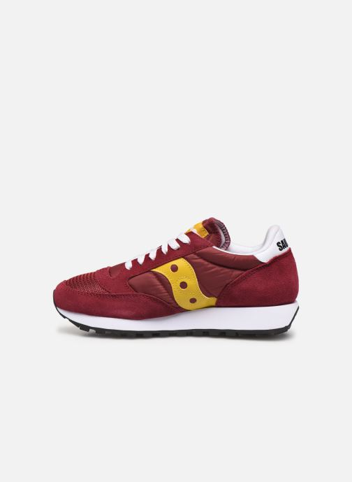 Baskets Saucony Jazz Original Vintage W Bordeaux vue face