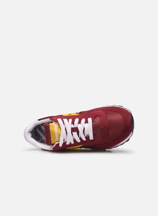 Baskets Saucony Jazz Original Vintage W Bordeaux vue gauche
