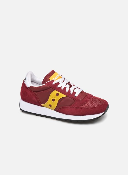 Baskets Saucony Jazz Original Vintage W Bordeaux vue détail/paire