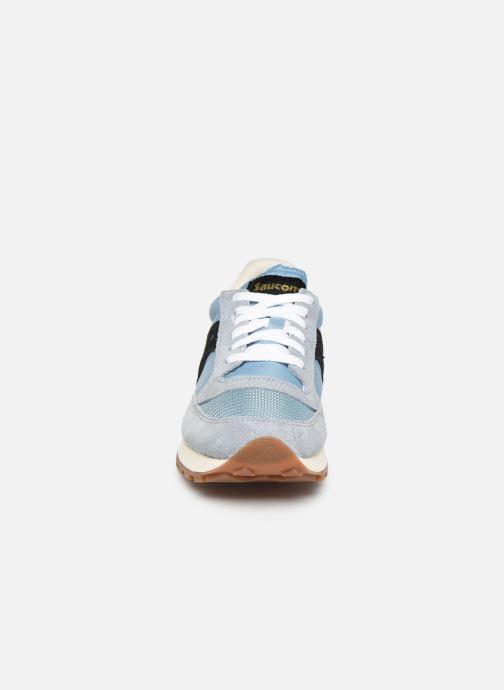 Baskets Saucony Jazz Original Vintage W Bleu vue portées chaussures
