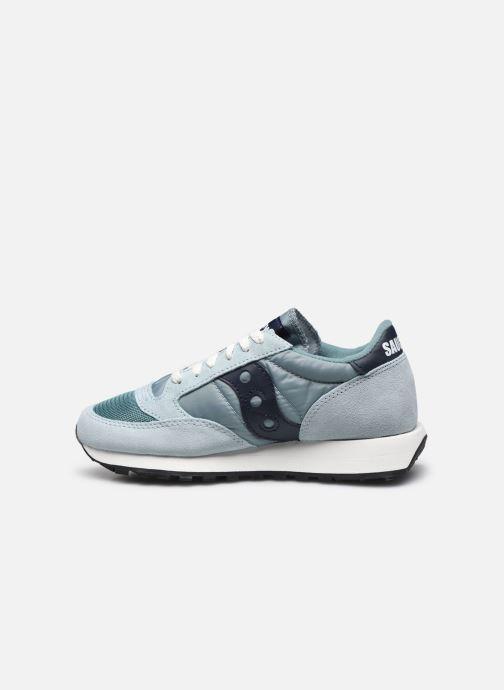 Sneaker Saucony Jazz Original Vintage W blau ansicht von vorne
